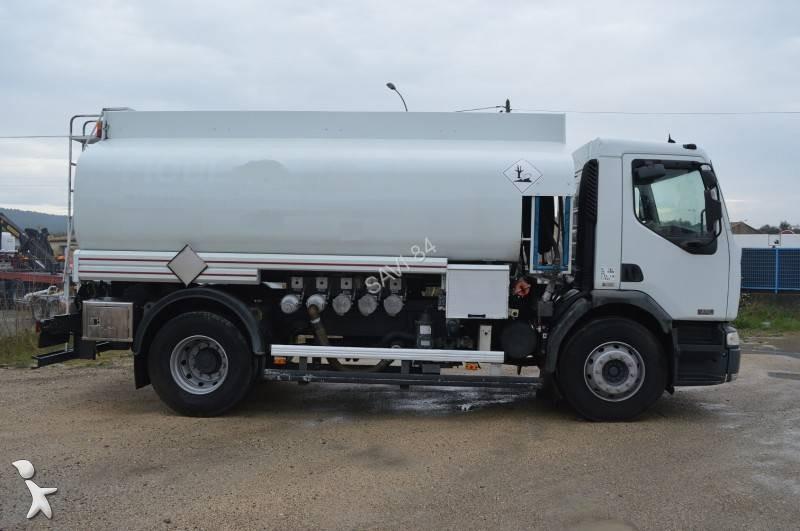 camion renault citerne hydrocarbures premium 270 19 dci