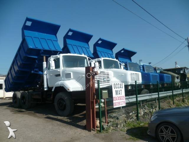 camion renault benne marrel cbh 280 6x6 euro 3 occasion