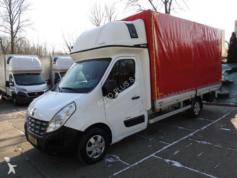 camion renault master skrzynia plandeka 8 europalet klimatyzacja webast occasion n 2061366. Black Bedroom Furniture Sets. Home Design Ideas