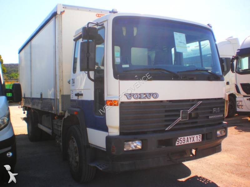 Camion Volvo fourgon polyfond occasion