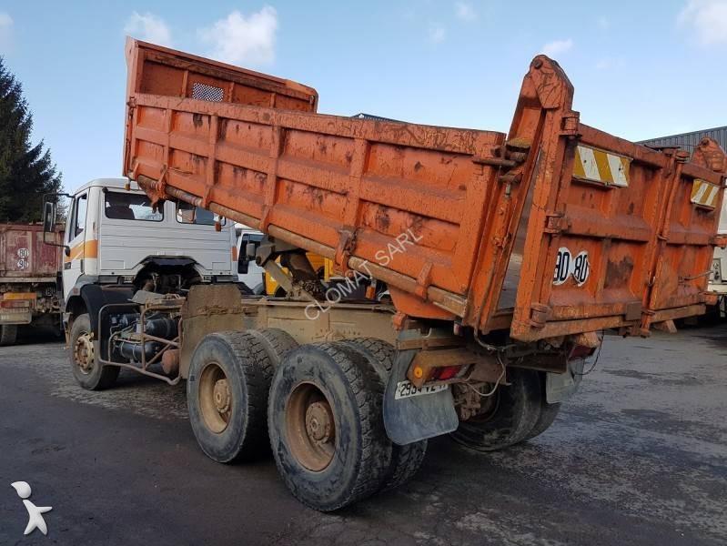 camion benne occasion mercedes roadliner 340 annonce n 2175780. Black Bedroom Furniture Sets. Home Design Ideas