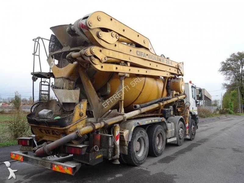 Camion iveco calcestruzzo betoniera mescolatore pompa for Effretti usato