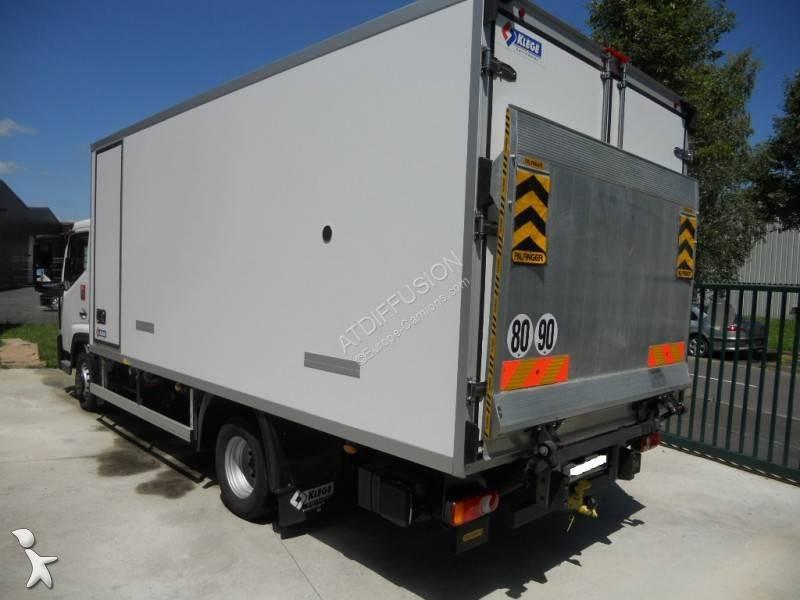 camion renault frigo carrier mono temp rature gamme d dti 5 4x2 gazoil euro 6 hayon. Black Bedroom Furniture Sets. Home Design Ideas