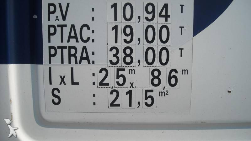 Camion volvo frigo thermoking mono temp rature f10 1020 4x2 gazoil euro 1 hayon occasion n 346646 - Temperature frigo 10 degres ...