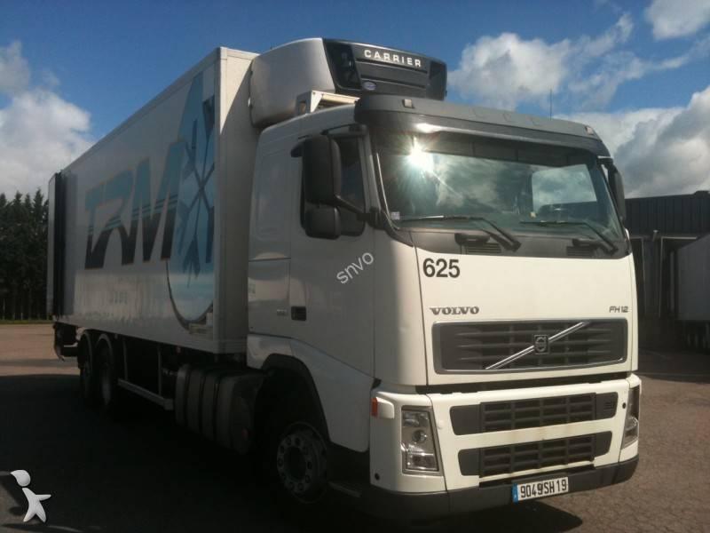 camion volvo frigo carrier fh12 380 6x2 gazoil hayon occasion n 766043. Black Bedroom Furniture Sets. Home Design Ideas