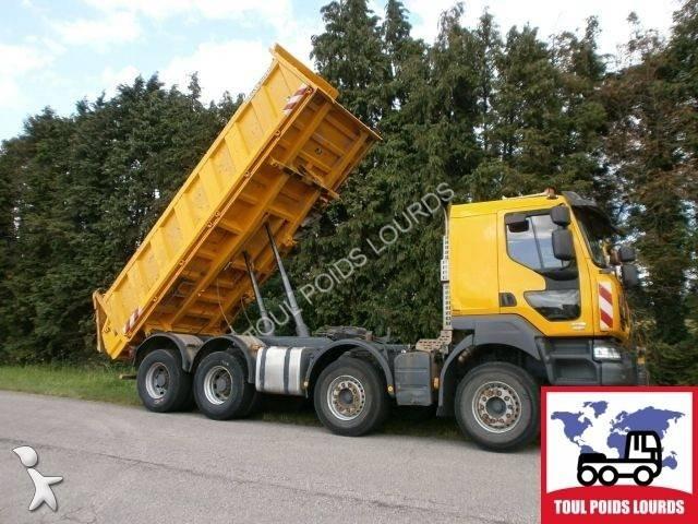 camion renault tri benne meiller kerax 450 dxi 8x4 gazoil euro 5 occasion n 1562342. Black Bedroom Furniture Sets. Home Design Ideas