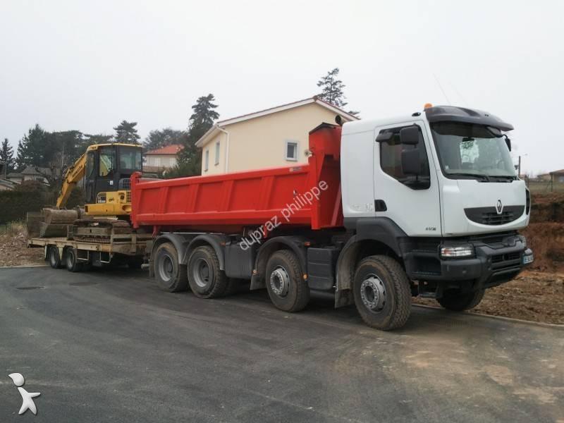 camion renault bi benne meiller kerax 450 dxi 8x4 gazoil euro 5 occasion n 1596909. Black Bedroom Furniture Sets. Home Design Ideas