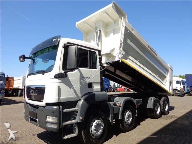 camion man benne tgs bb 8x4 24 m3 8x4 gazoil euro 5 occasion n 1602156. Black Bedroom Furniture Sets. Home Design Ideas