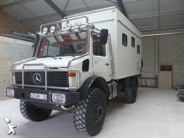 used unimog u1300 box truck 4x4 diesel euro 0 n 1770311. Black Bedroom Furniture Sets. Home Design Ideas