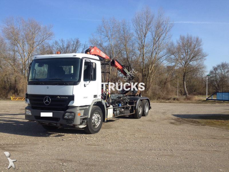 camion mercedes polybenne actros 2632 6x4 gazoil euro 4. Black Bedroom Furniture Sets. Home Design Ideas