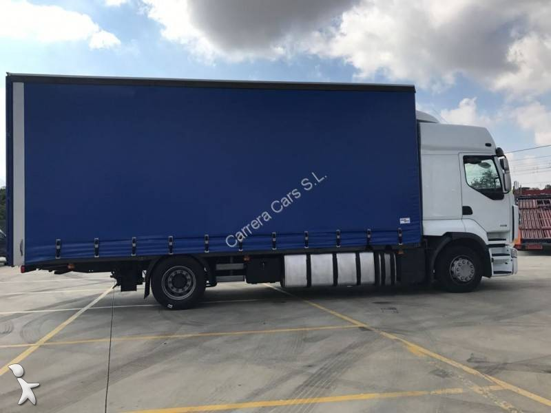 camion renault plateau premium 460 4x2 euro 5 occasion n 2249951. Black Bedroom Furniture Sets. Home Design Ideas