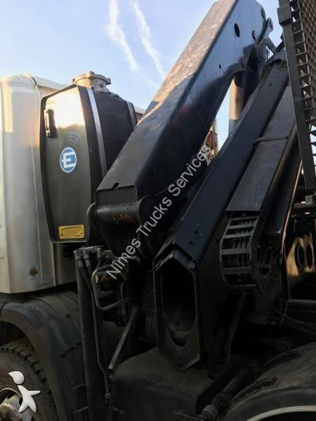 camion scania polybenne marrel p 380 8x4 gazoil euro 4. Black Bedroom Furniture Sets. Home Design Ideas