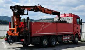 Vedere le foto Camion Scania R480 *Pritsche 6,90 m + KRAN*Top Zustand!