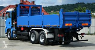 Vedere le foto Camion MAN TGA 26.400 Kipper 6,40 m + Kran* 6x4 Topzustand!