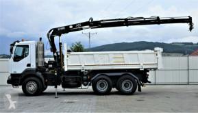 Voir les photos Camion Renault KERAX 370 DCI Kipper 5,10m+Kran/FUNK 6x4