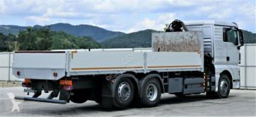 Voir les photos Camion MAN TGX 26.440 Pritsche 6,90m+Kran *6x2*Topzustand!
