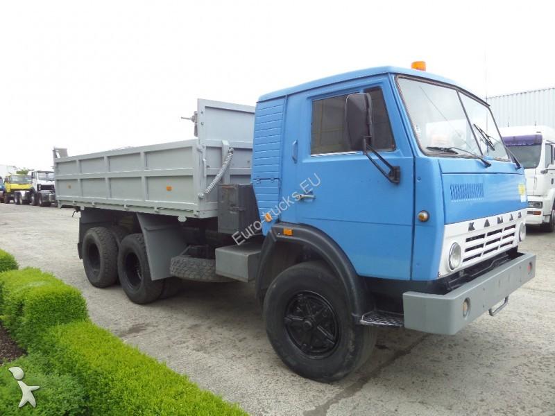 camion kamaz benne 340 d 6x4 gazoil euro 1 occasion n. Black Bedroom Furniture Sets. Home Design Ideas