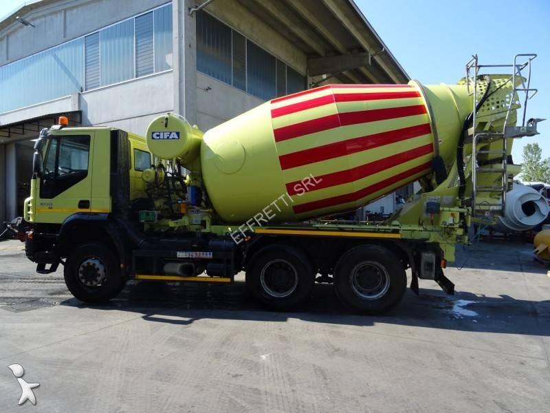 Camion iveco calcestruzzo rotore mescolatore trakker ad for Effretti usato