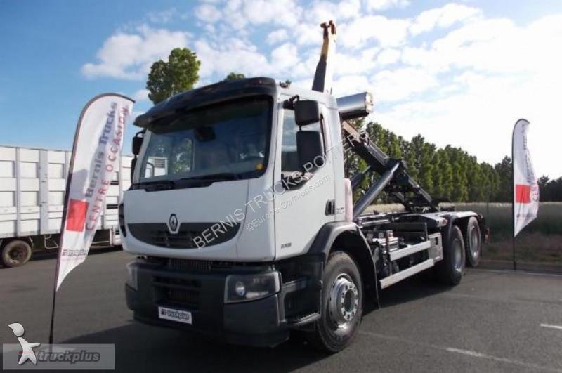camion renault polybenne premium lander 370 occasion n 2093609. Black Bedroom Furniture Sets. Home Design Ideas