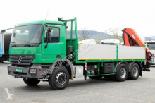 Zobaczyć zdjęcia Ciężarówka Mercedes ACTROS 2636 /6x4/CRANE PALFINGER PK 20002/REMOTE
