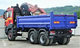 Voir les photos Camion MAN TGS 33.360 Kipper 4,90 m + Kran *6x6!