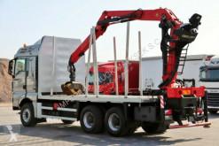 Voir les photos Camion MAN TGX 33.540 / 6X4/ FOR WOOD / PALFINGER EPSILON