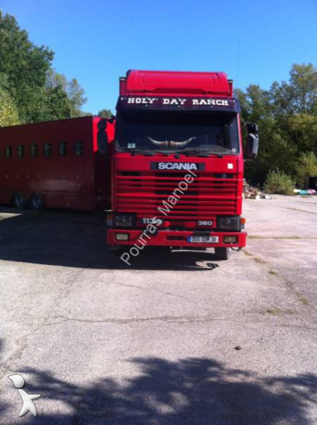 camion remorque scania b taill re gazoil euro 0 occasion. Black Bedroom Furniture Sets. Home Design Ideas