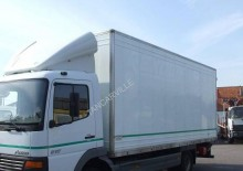 Mercedes moving box trailer truck