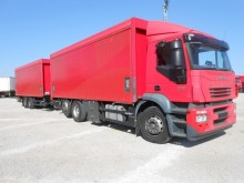 camión remolque lona corredera (tautliner) sistema de lona corrediza Iveco