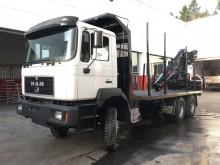 camion remorque grumier MAN