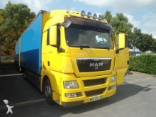 camion remorque rideaux coulissants (plsc) MAN