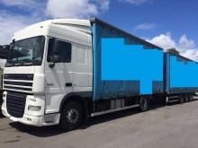 ciężarówka z przyczepą DAF XF105 FA 410