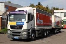 camión remolque furgón pared rígida plegable usado
