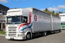 camion remorque savoyarde système bâchage coulissant occasion