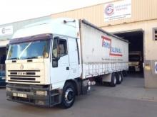 camion remorque savoyarde système bâchage coulissant Iveco