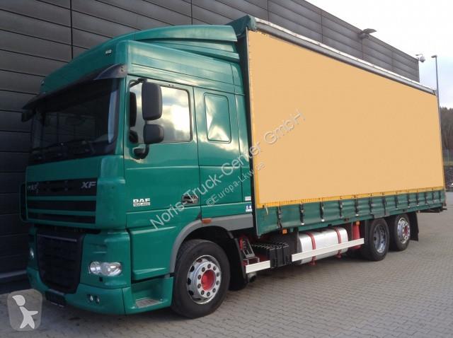 Camion remorque DAF FAR 105.460 JUMBO EDSCHA (Euro5 Intarder AHK)