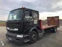 camión remolque portamáquinas usado