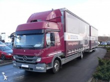 camión remolque lona corredera (tautliner) sistema de lona corrediza usado