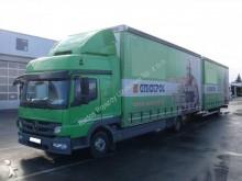 camión remolque lona corredera (tautliner) sistema de lona corrediza Mercedes