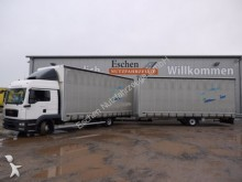 camion remorque MAN TGL 8.220 Jumbo + 1 Achs Anhänger