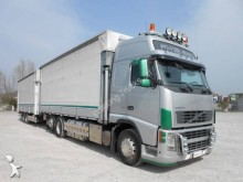 camion remorque savoyarde système bâchage coulissant Volvo