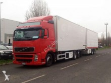 Volvo refrigerated trailer truck