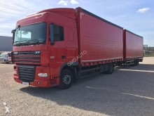 camion remorque fourgon standard DAF