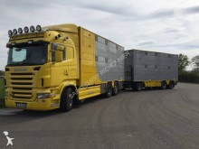 camion remorque bétaillère bovins Scania