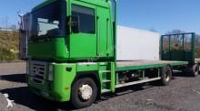 camión remolque caja abierta Renault