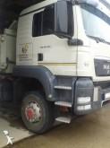 camión remolque volquete trilateral MAN