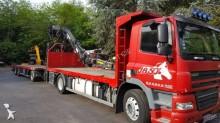 camion remorque plateau DAF