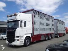 camion remorque bétaillère Scania