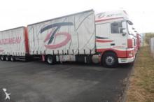 camión remolque lona corredera (tautliner) DAF