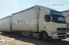camion remorque plateau ridelles Volvo
